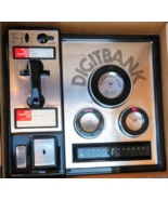 VINTAGE 1970s Coin BANK Thermometer Calendar Payphone Wall Hanging New O... - $75.00