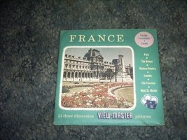 France Viewmaster Reels B172 [Slide] by SAWYERS - $17.75