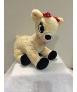 Rudolph Red Nose Reindeer Friends Clarice tan b... - $19.67