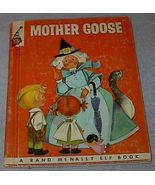 Rand McNally Elf Book, Mother Goose - $5.00