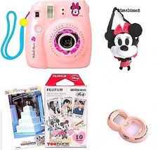 Instax Mini 8 MINNIE MOUSE Pink Fujifilm Camera... - $216.81