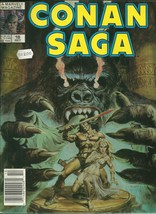 Conan Saga 18 Marvel Comic Book Magazine Oct 1988 - $1.99