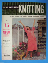 Modern Knitting Magazine October November 1963 ... - $14.83