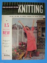 Modern Knitting Magazine October November 1963 ... - $14.83