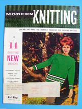 Vintage Modern Knitting Magazine January February 1963 Machine Knitting ... - $14.83