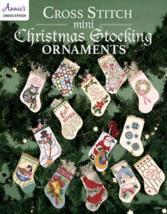 Mini Cross Stitch Sotcking Ornaments cross stitch book Annie's Publications - $7.00