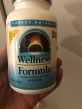 Source Naturals Wellness Formula 90 Tablets Daily Immune Support - $56.99