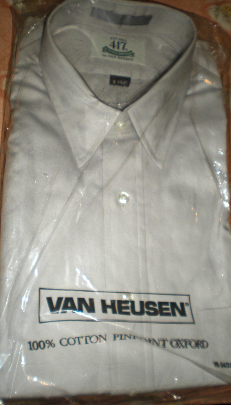 Primary image for Men Shirt Size 16  Sleeve 34/35 Van Heusen