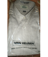 Men Shirt Size 16  Sleeve 34/35 Van Heusen - $12.50
