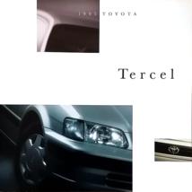 1995 Toyota TERCEL sales brochure catalog 2nd Edition US 95 DX - $7.00