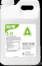 Quali-Pro 3-D Herbicide 2.5 Gls Broadleaf Herbicide Post Emergent 3Way H... - $99.95