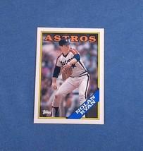 1988 - TOPPS - #250 - Nolan Ryan - $0.25