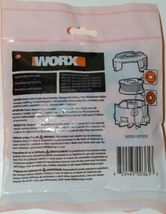 WORX WA0004 Replacement Spool Line DNA Line 2 Orange Red 10 Feet Pkg 2 .065 Size image 3