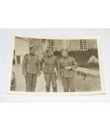 ORIGINAL WW2 GERMAN PHOTO: SS TOTENKOPF SOLDIERS POSE - $25.00