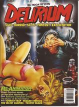 Full Moon Delirium Magazine #1 Premiere Issue Re-Animator Stuart Gordon ... - $24.95