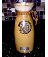 Vintage Asian Pottery Japanese Sake Bottle Vase Jar Shimano Promotion - $17.99