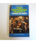 1971 The Partridge Family #5 Terror By NIght Paperback Book with David C... - $7.99