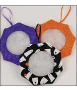 "Halloween Tuck Ornament 3"" - set 6 assorted fab... - $19.35"