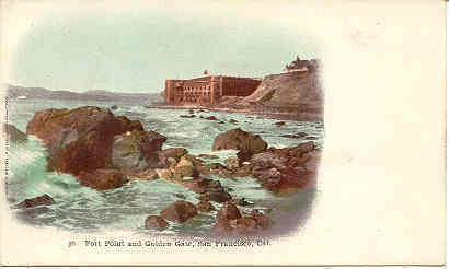 Primary image for  Golden Gate San Francisco 1898 Private Mailing Card