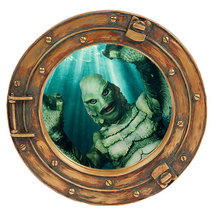 """Creature from the black lagoon Porthole Wall Sticker,decal,removable 11""""... - $10.99"""