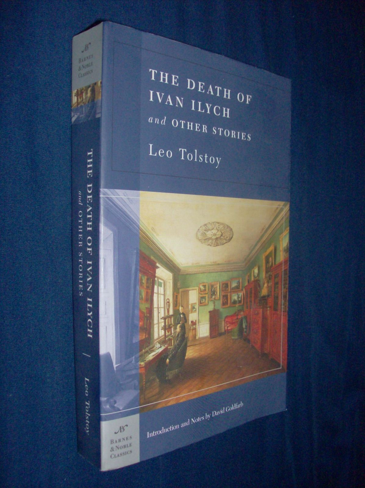 a review of leo tolstoys novel death of ivan ilyich All about the death of ivan ilych by leo tolstoy this book should not be read the day you find out that your grandfather has passed and published reviews.