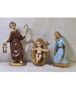 #0606 Old Fontanini Mix Nativity 16 piece  - $50.00