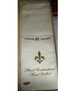Men's Handkerchiefs Two Monogrammed ( Letter R) - $5.95