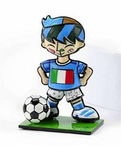 Romero Britto Mini World Cup Soccer Player Mini Figurine Italy