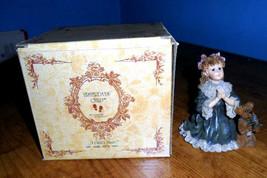 1995 Yesterdays Child Dollstone Boyd's Bear Teresa & John The Prayer Fig... - $6.44