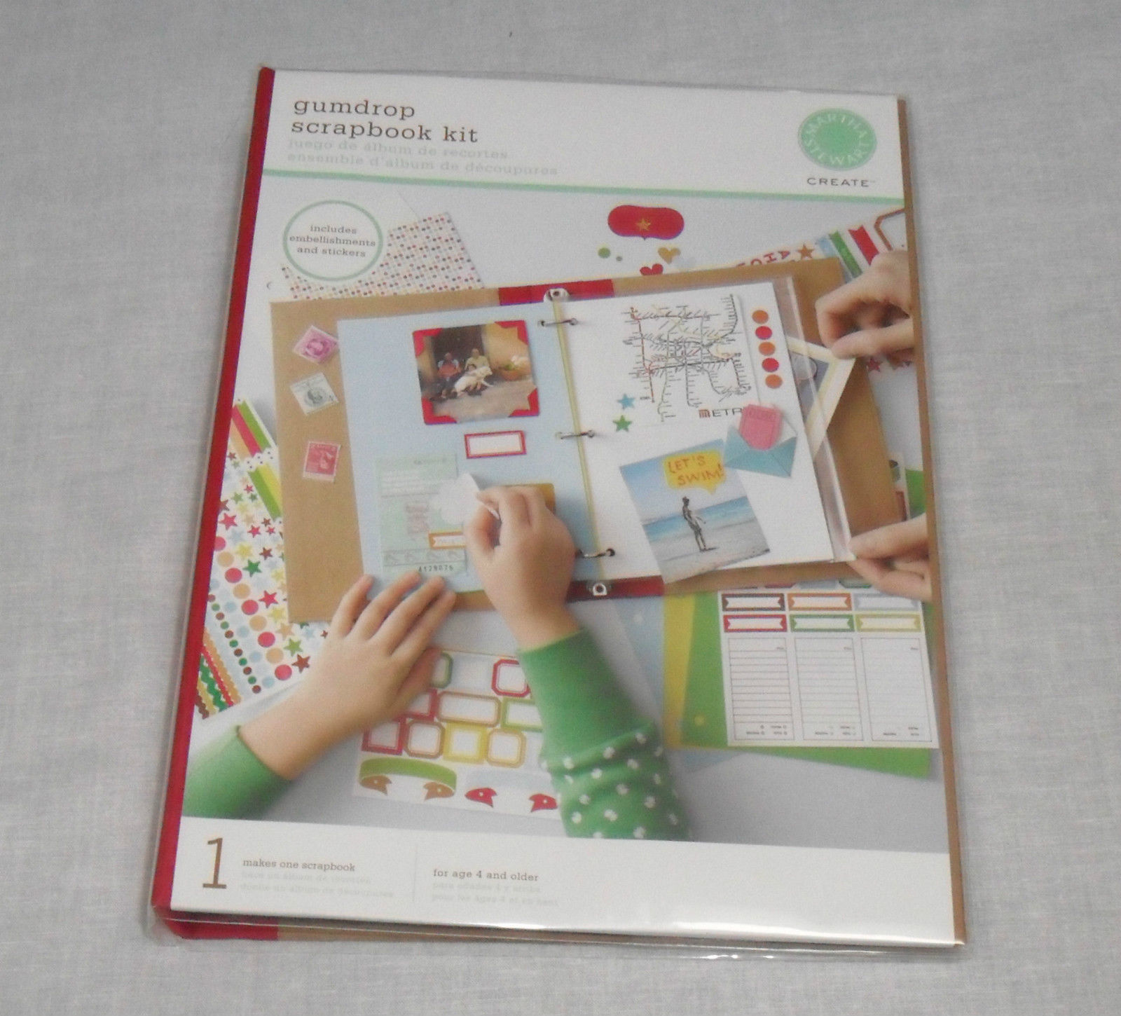 Martha Stewart Gumdrop Scrapbook Kit NEW and 50 similar items