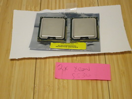 Matched Pair of Intel Xeon E5530 2.4GHz 8MB Quad Core Processor SLBF7 (1... - $18.69