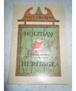 Mid Century Betty Crocker's Heritage Holiday Recipe Booklet 1966 - $2.99