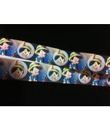 """Pinocchio Printed Grosgrain Ribbon 1"""" Printed Grosgrain Ribbon/Disney ca... - $1.60"""