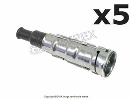 Mercedes r107 w108 Spark Plug Connector Set of 5 BERU OEM +1 YEAR WARRANTY - $126.95