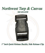 """Quick Release Buckle, Side Release Clip, For  1"""" Inch Webbing, 1 Piece - $3.49"""