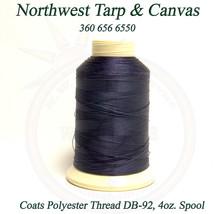 Thread, Polyester, Coats, Thread-4 oz. Spool, Navy, (Dark Blue), Size DB... - $24.19