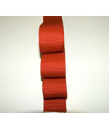 """Webbing, 1½"""" Inch Wide Red Polypropylene Sold By-The-Yard 36"""" Uncut Lengths - $0.99"""