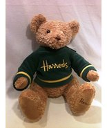 "Harrods of London Large 15"" Green Sweater Climbing Bear With Tags - $49.48"