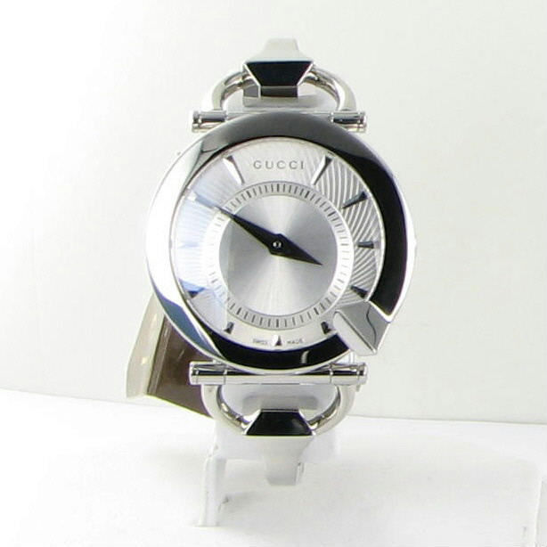 7595e315513 Gucci Chiodo 122 Silver Helical Dia Ladies and 50 similar items