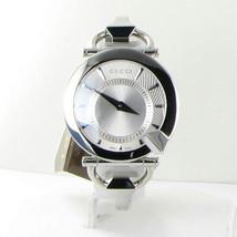 Gucci Chiodo 122 Silver Helical Dia Ladies 35mm Watch NWT YA122508 $795 - $678.99