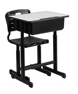 Child School Desk Chair Student Set Adjustable Height Home Work Kids Furniture - $178.89