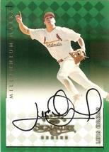 1998 donruss signature autograph millennium marks luis ordaz baseball ca... - $9.99