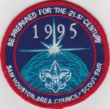 Sam Houston Area Council - Patch 1995 Scout Fair - $2.99