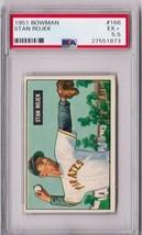 1951 Bowman Stan Rojek #166 PSA 5.5 P569 - $16.35