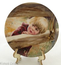 Donald Zolan Collector Plate Rodeo Girl 7.5 inches - $17.81