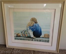 Susan Rios Blake and Alex Serigraph Framed Sign... - $494.99