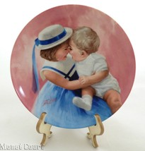 Donald Zolan Collector Plate Mother's Angels 7.... - $17.80