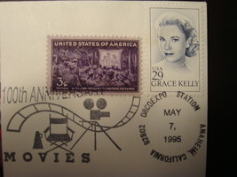 FDC, Set of (3), 100th Anniv. of the Movies. image 4