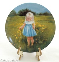 Donald Zolan Collector Plate Meadow Magic 7.5 i... - $17.80