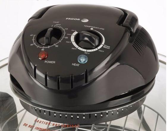 Hot Air Cooker ~ Tabletop hot air cooker quart halogen oven mini steamer